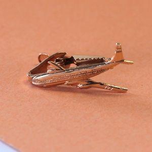 Vintage Airplane Tie Bar
